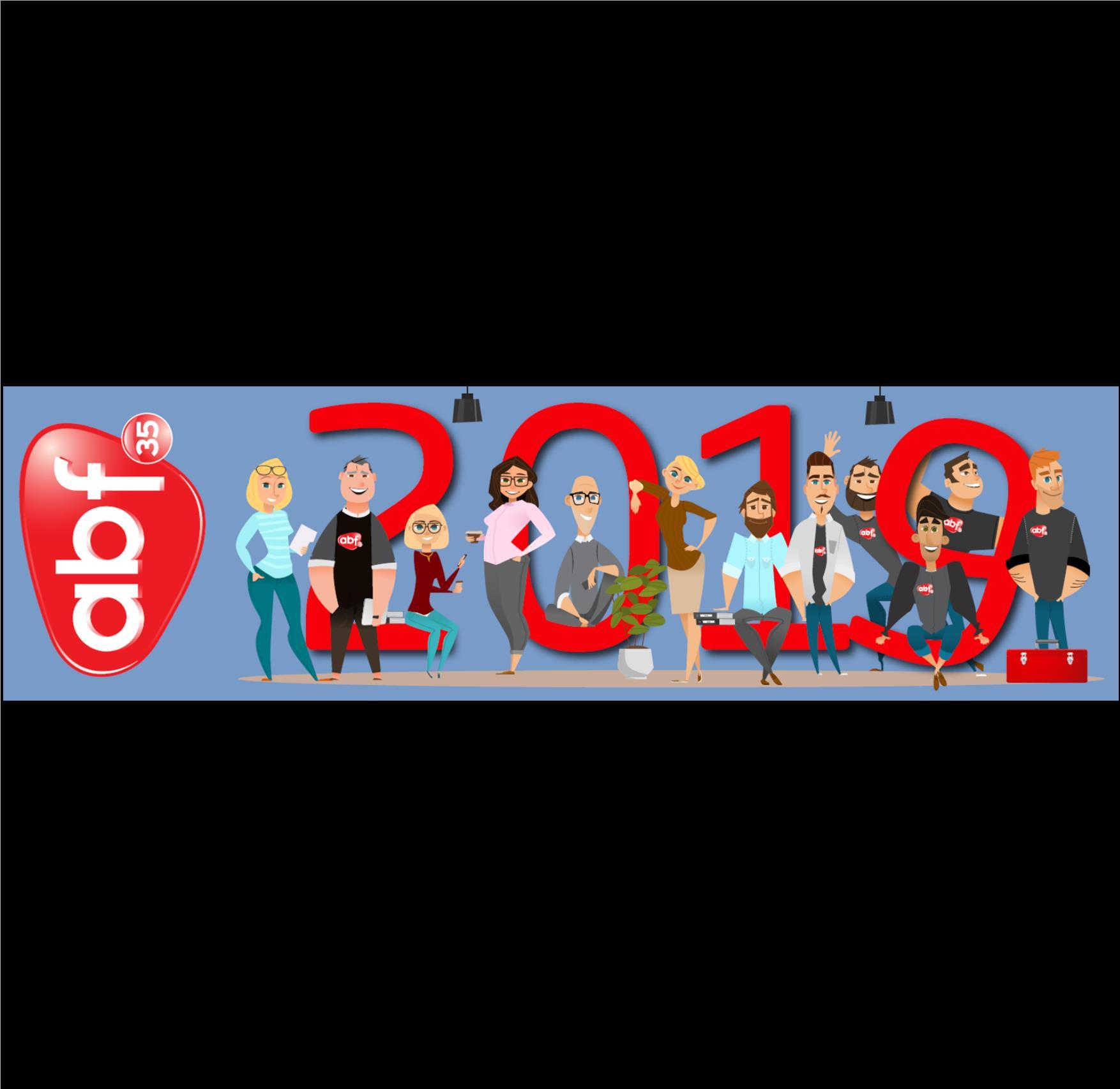 Toute l'équipe ABF35 vous souhaite une très belle année 2019 !