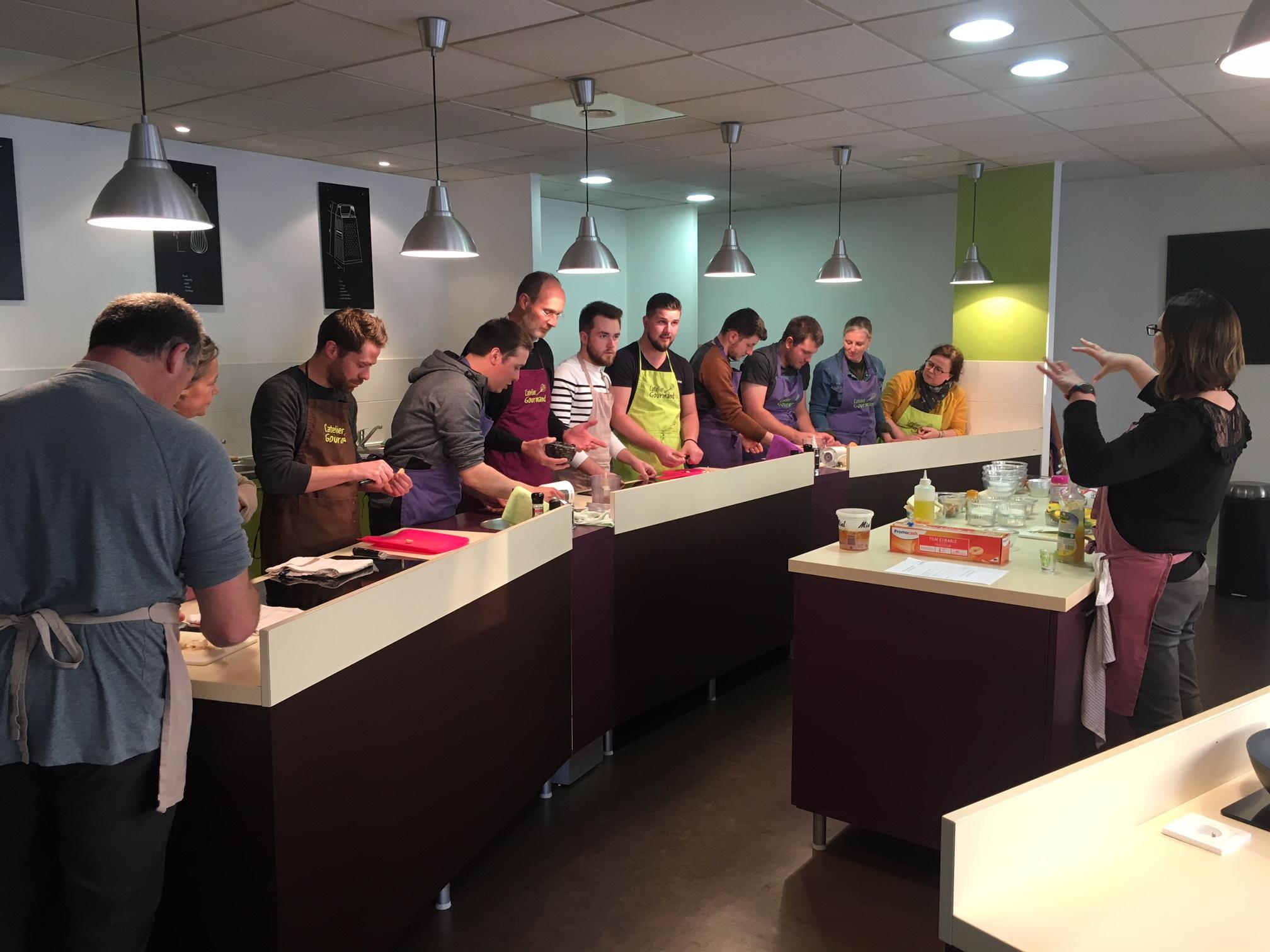 [TeamABF35] Soirée cours de cuisine et dégustation