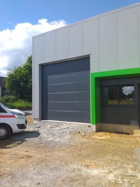 [Industrie] 2 Portes sectionnelles CONDOOR motorisées