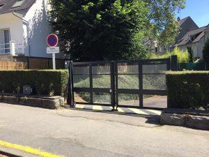 Read more about the article [Création] Installation d'un portail battant automatique SCBH