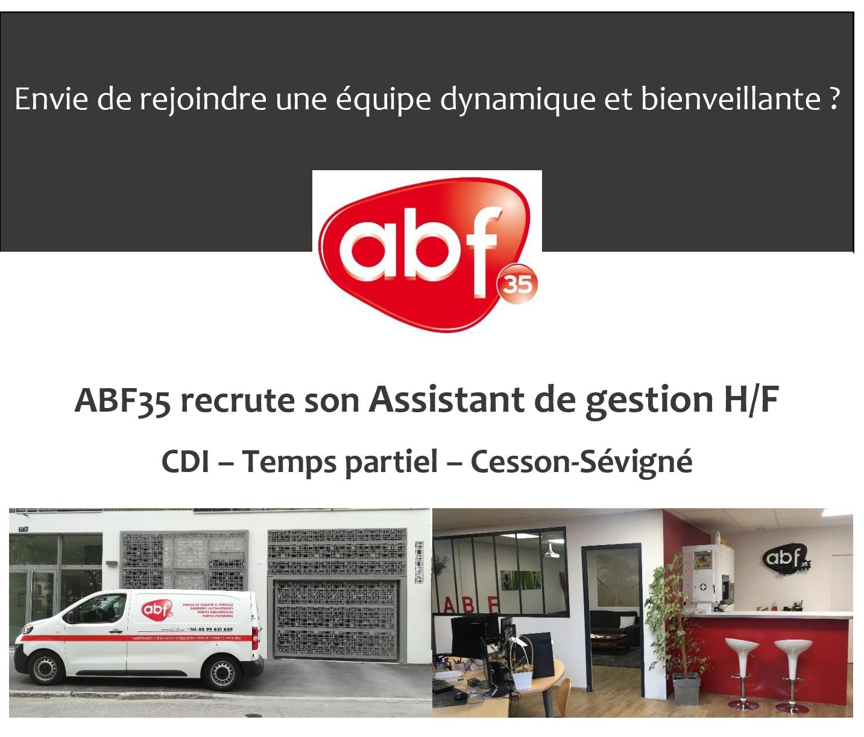 [Recrutement] ABF35 recrute ! Rejoignez-nous !