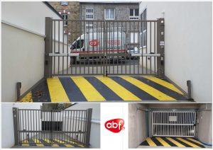 [Coeur_villeneuve] Portail battant sur-mesure SCBH et porte de garage SAFIR