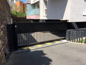 [Rennes] Installation d'un portail coulissant SCBH