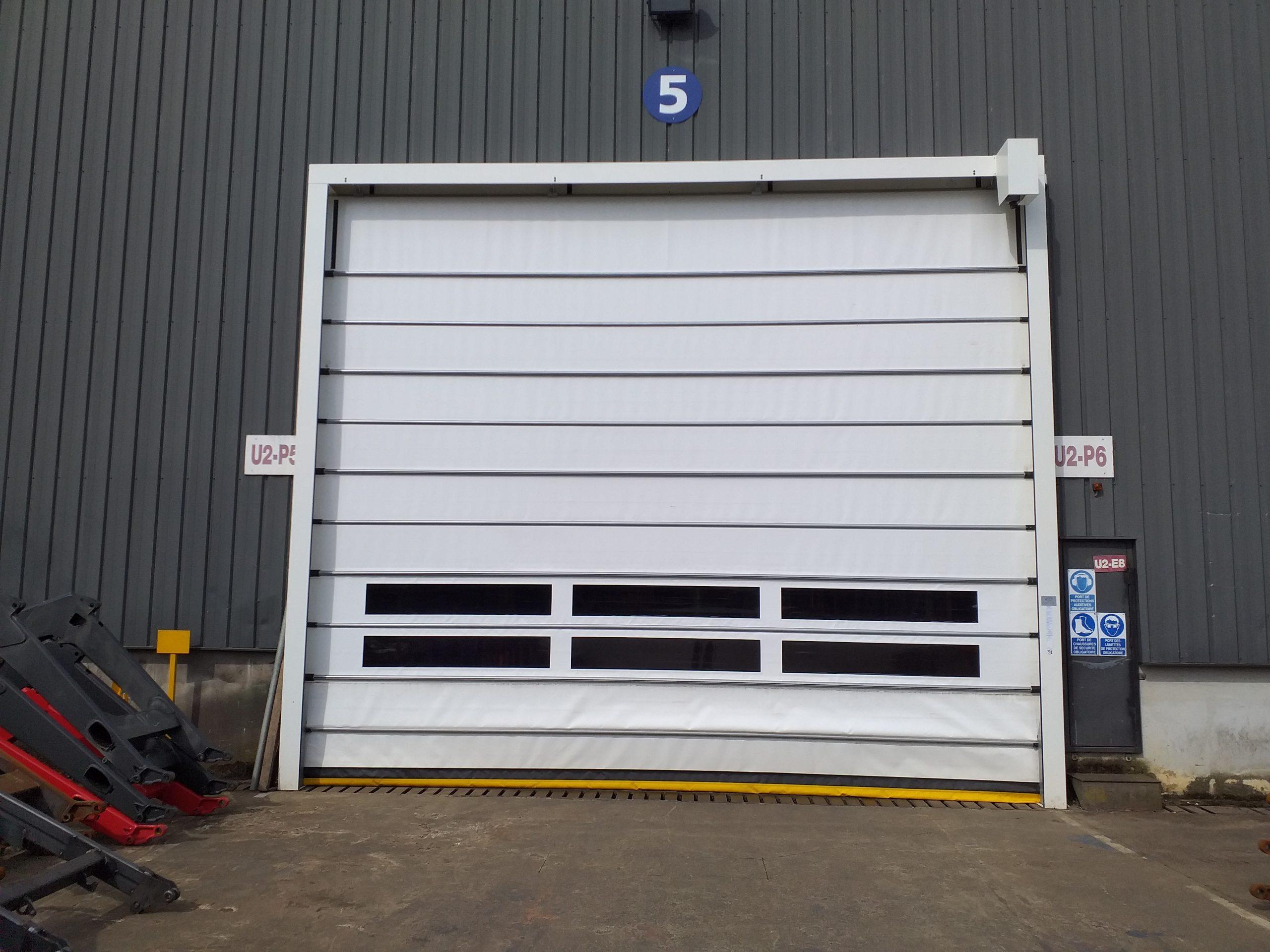 [ACIGNE] Installation d'une porte rapide SAFIR Planevite