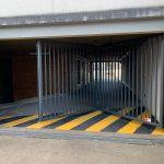 [VIDEO] Ouverture piéton ou véhicule pour la porte accordéon