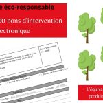 [Digitalisation] 50.000ème bon d'intervention électronique
